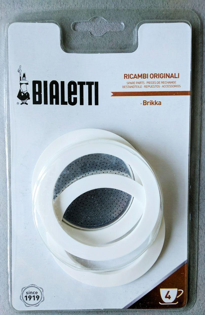 Запчасти к гейзерной кофеварке Bialetti  Brikka (4 чашки)