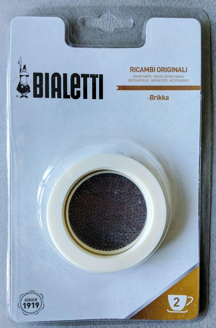 Запчасти к гейзерной кофеварке Bialetti  Brikka (2 чашки)