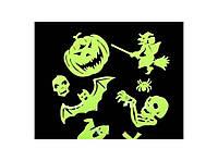 Набор светящихся в темноте наклеек Ghost Halloween