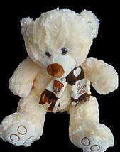 Прекрасный подарок для любимой девушки плюшевый Мишка 68 см в красивом шарфе, фото 2