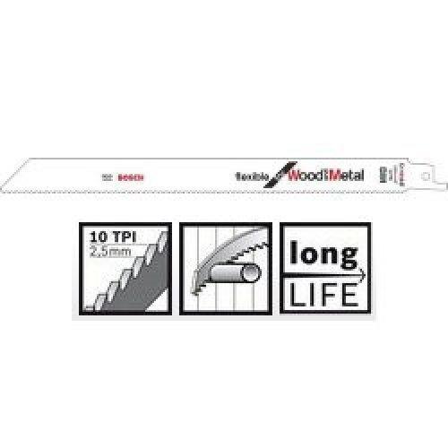 Пильное полотно Bosch Flexible for Wood and Metal S 1122 HF 2шт