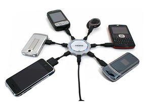 Зарядні пристрої для мобільних телефонів і планшетних пк