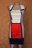 Платье ХБ квадрат, р. 44