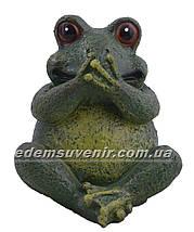 Садовая фигура Жаба глухая, немая и слепая, фото 3