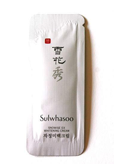 Sulwhasoo Осветляющий Крем для лица Пробник Snowise Brightening Cream 1ml