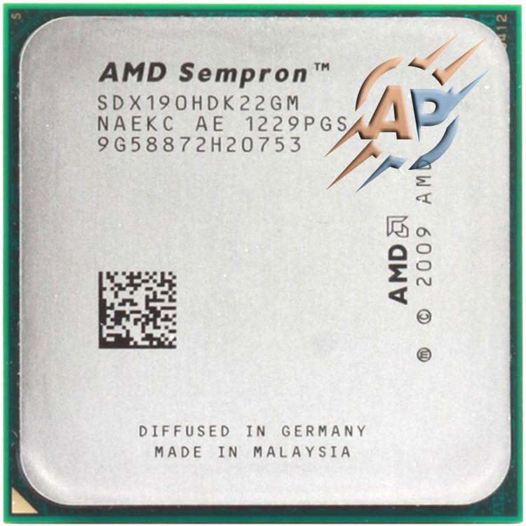 Процессор AMD Sempron X2 190 2.5 GHz (SDX190HDK22GM) 2000 MHz Socket AM3 1 MB
