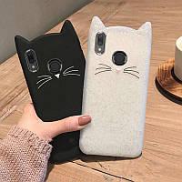"""Силиконовый Чехол для Xiaomi Redmi Note 5 3D """"Cat"""""""