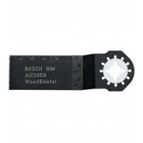 Погружное пильное полотно Bosch AIZ 28 EB Wood&Metal