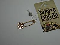Булавка золотая б/у. Вес 0,92 гр.