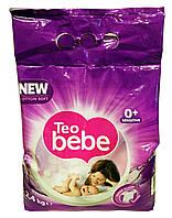 Стиральный порошок для детских вещей Teo bebe New cotton soft Sensitive Violet - 2,4 кг.