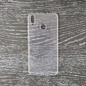 Чехол накладка для Huawei Honor 8X силиконовый, Air case Прозрачный