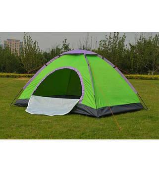 Палатка туристическая четырехместная HYZP-03
