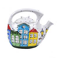Семейный чайник-заварник Львовская керамика 3 л (384), фото 1