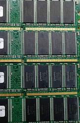 Оперативная память 1Gb DDR1 PC-2700 333MHz під Intel та AMD для ПК бу