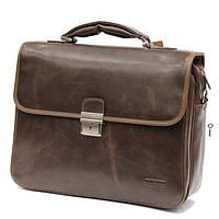Портфель сумка мужская из кожи