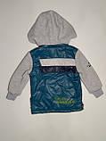 Куртка демисезонная для мальчика ТМ Єволюшн, фото 2