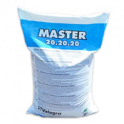 Удобрение Мастер НПК 20.20.20 (Master NPK) Valagro - 25 кг, фото 2