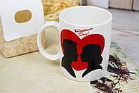 Чашка Влюбленным С Днем Святого Валентина