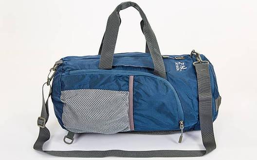Сумка-рюкзак складная многофункциональная GA-2107 синяя, фото 2