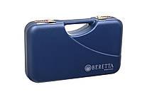 """Кейс """"Beretta"""" синего цвета / кейс для хранения патронов"""