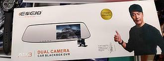 """Видеорегистратор Blackbox DVR A23 в зеркале заднего вида с дополнительной камерой заднего вида 4.3"""" 8Mp Car"""