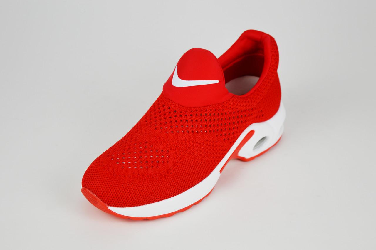 Красные текстильные слипоны Lonza 503