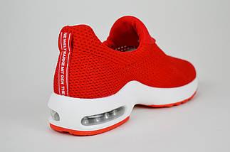 Красные текстильные слипоны Lonza 503, фото 2