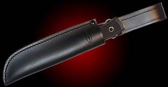 Чехол кожаный Fallkniven для F1 черного цвета