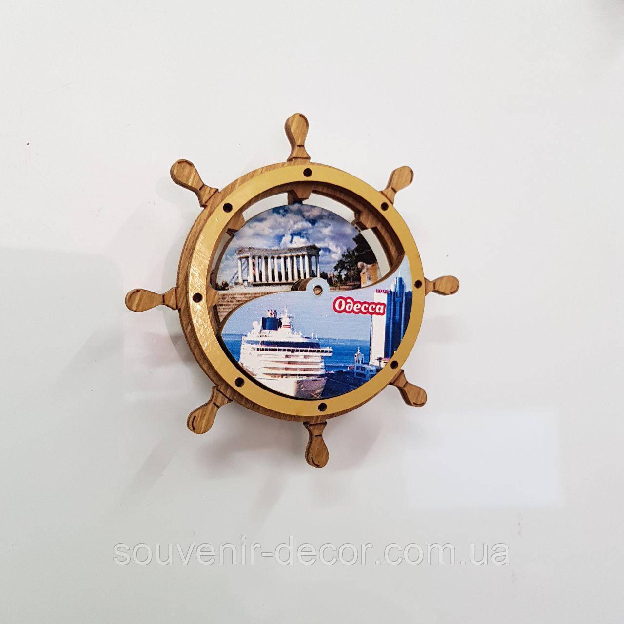 """Штурвал-калейдоскоп """"Одесский морской вокзал"""""""