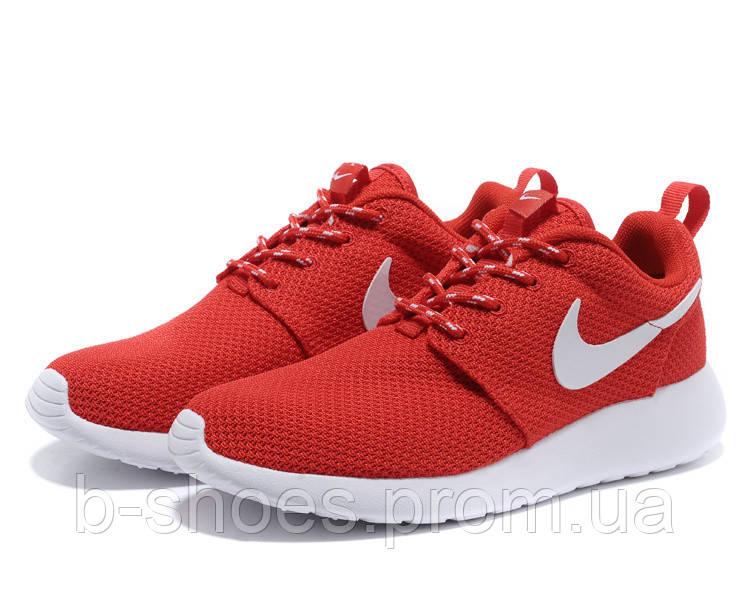 Кроссовки Nike Roshe Run (Red/White)