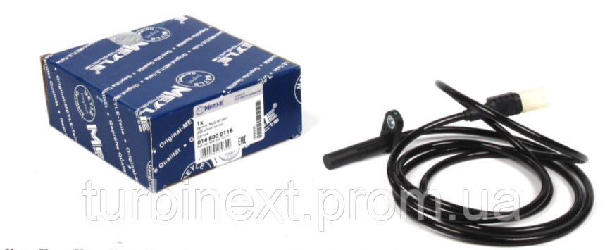 Датчик ABS MEYLE 014 800 0118 (задній) MB Sprinter/VW Crafter 06- (спарка) (R)