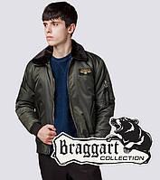 Бомбер демисезонный молодежный Braggart Youth - 52121T хаки