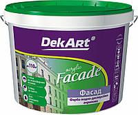 Водоэмульсионная фасадная краска Декарт «Facade» для наружных работ.