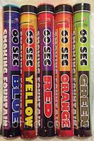 Набір кольорового диму 5-ть шашок, димові кольорові шашки,, ТМ Maxsem, 60 секунд