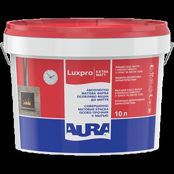Краска для стен и потолков AURA Luxpro ExtraMatt, А (белая), 2.5л, фото 2
