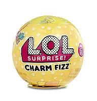Игровой набор L.O.L. Surprise! Растворимый в воде шарик с очаровательным брелком Charm Fizz Series 3