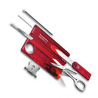 Набор Victorinox SwissCard Lite Red / мультиинструмент красного цвета