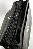 Портфель кожаный деловой мужской, фото 7