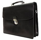 Портфель кожаный деловой мужской, фото 6