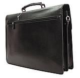 Портфель кожаный деловой мужской, фото 9
