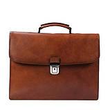 Портфель кожаный деловой мужской, фото 10