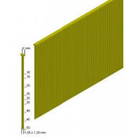 Штифт Prebena типа 40мм (5 тис. шт.), 1,0х1,25мм HTools, J-40 х 5