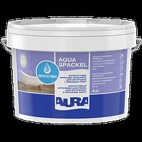 Влагостойкая акриловая шпатлевка для внутренних и наружных работ AURA Luxpro Aqua Spackel, 4кг