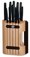 Деревянная подставка для кухонных ножей