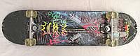 Класичний Скейтборд для трюкової їзди 79 x 20 см 3108-PU, фото 1