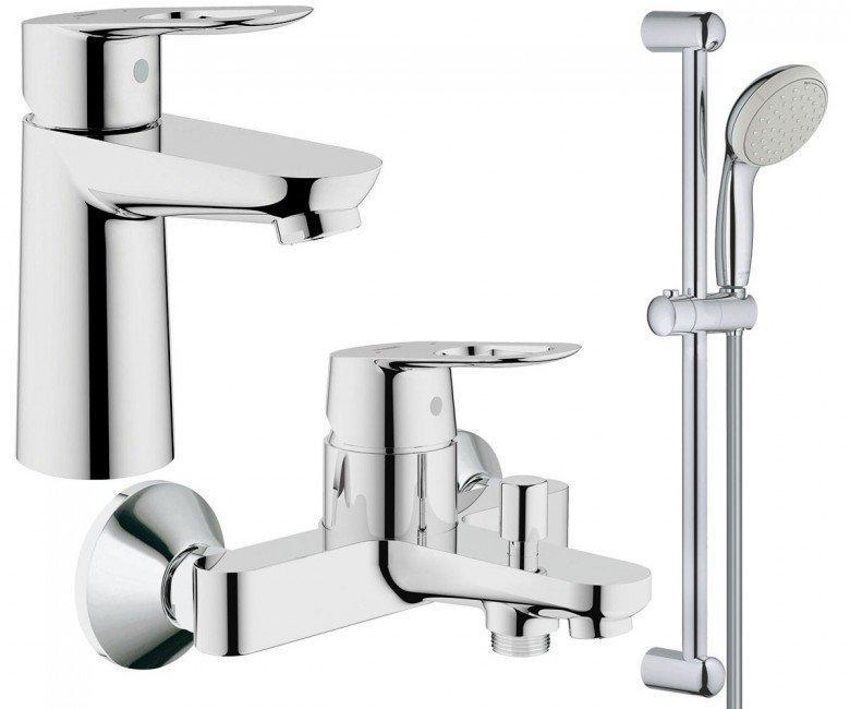 Набор смесителей для ванной S-size Grohe BauLoop 123214S