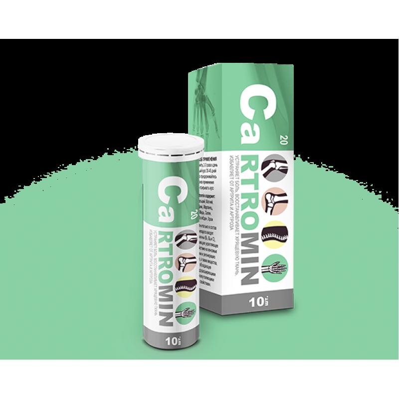 Cartromin (Картромин) — средство для суставов от артрита и артроза