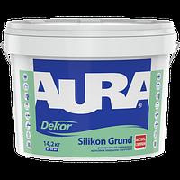 Адгезионная силиконовая грунтовка с кварцевым наполнителем AURA Dekor Silikon Grund, 10л