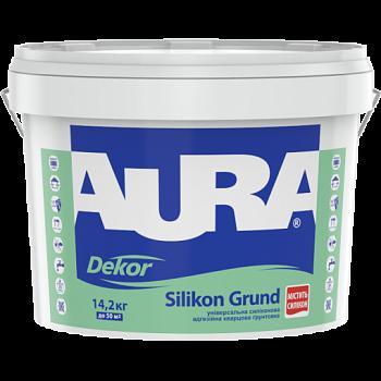 Адгезионная силиконовая грунтовка с кварцевым наполнителем AURA Dekor Silikon Grund, 10л, фото 2