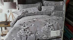 Постельное белье полисатин двуспальные (комплект постельного белья)